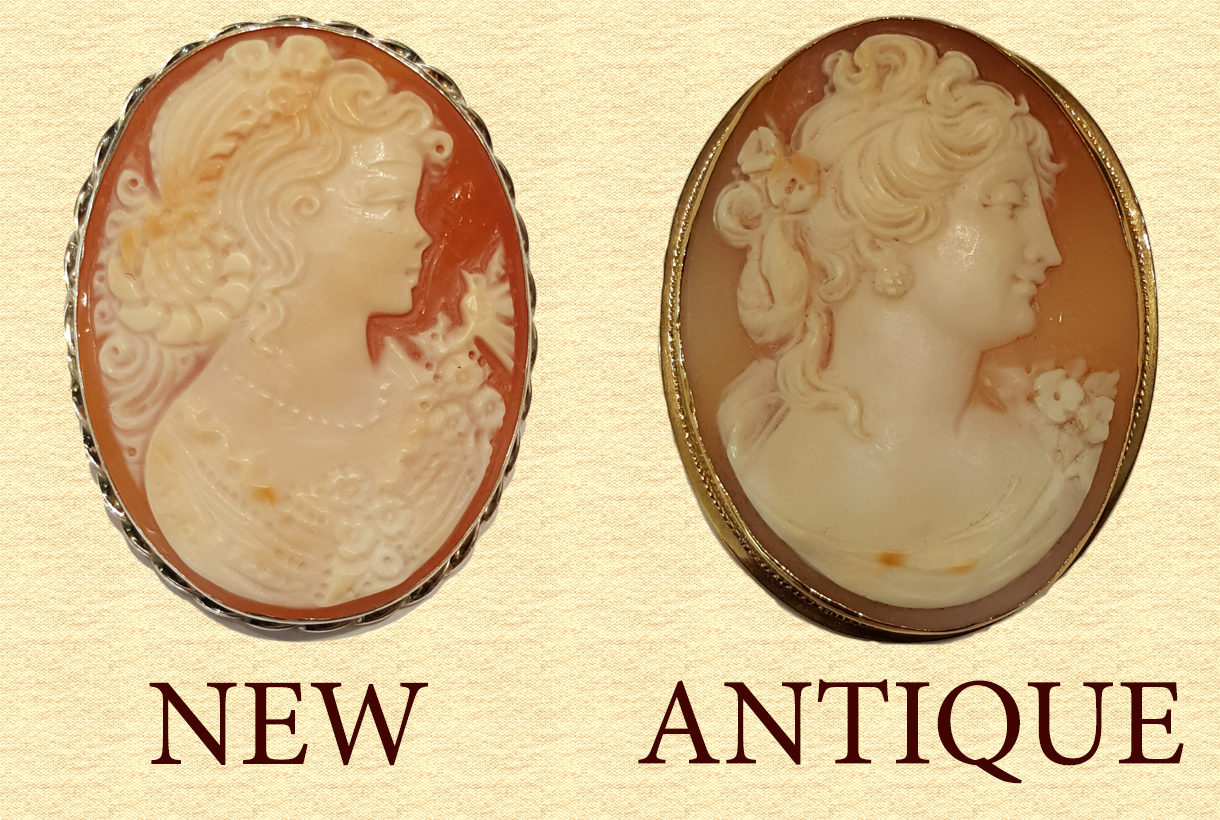 How to Age Antique Cameos & Price They Worth | Jovon Venice