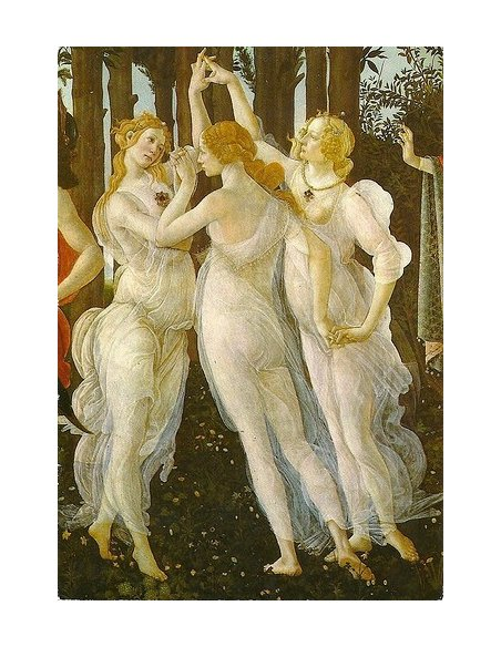 Botticelli Three Graces from la Primavera