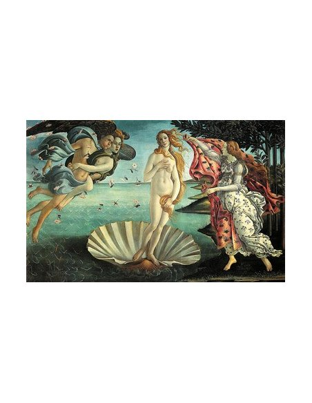 Birth of Venus Botticelli Painting