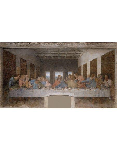 Cameo Last Supper Leonardo Gold