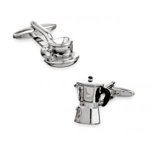 Cufflinks Espresso and Coffee Machine