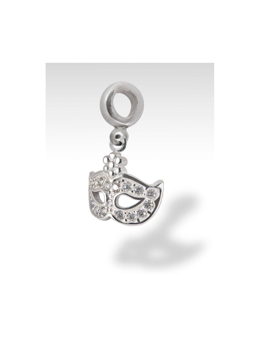 Pandora Mask Carnival Silver Compatible Jovon Venice