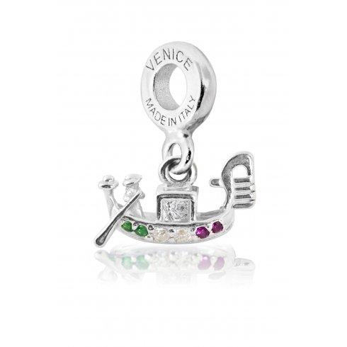 Gondola Charm Silver