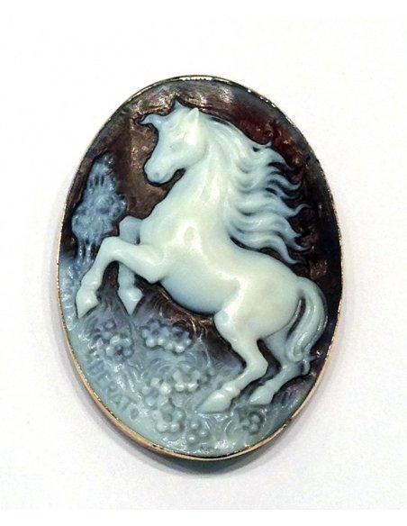 Cammeo Cavallo Pegaso Conchiglia