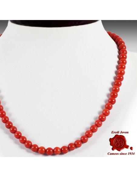 Collana Corallo Rosso Italiano