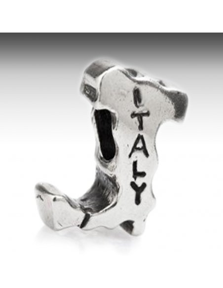 Italy Boot Silver Charm Pandora Compatible