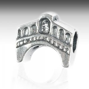 Rialto Bridge Silver Charm Fit Pandora