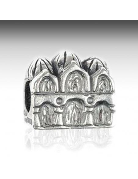 Charm Argento Basilica Pandora Compatibile