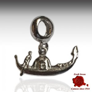 Venetian Gondola Charm silver Pandora Compatible