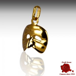 Charm Arlecchino in oro giallo