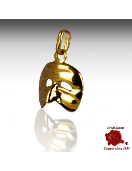 Harlequin Yellow Gold Venetian Charm