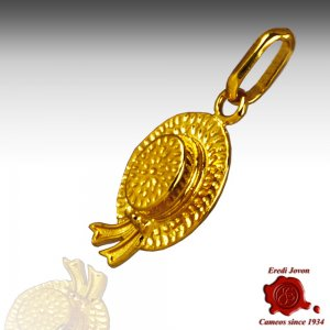 Charm Cappello Gondoliere Oro