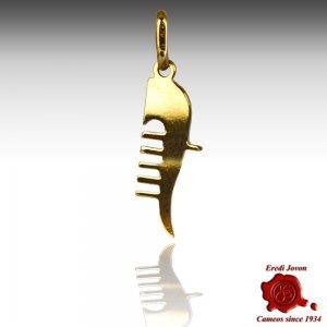 Charm Ferro di Gondola Oro Giallo