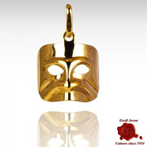 Charm of Casanova Mask in Gold