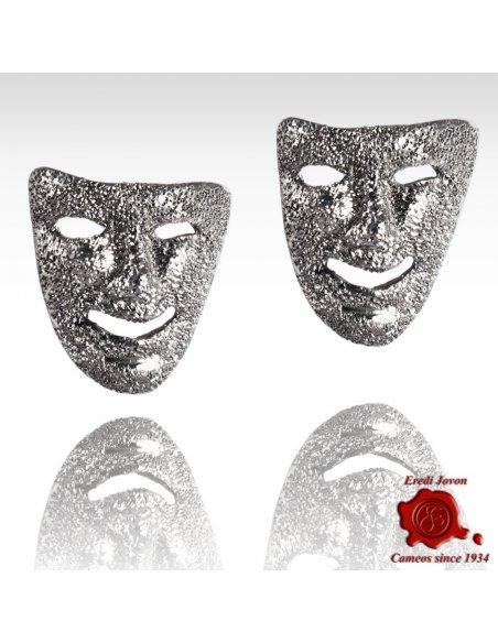 Carnival Mask Earrings Venetian