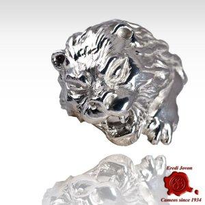 Venice Roaring Lion 925 Silver Ring