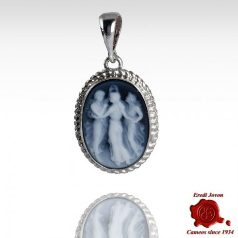 Three Graces Italian Cameo