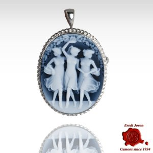 Three Graces Cameo Stone