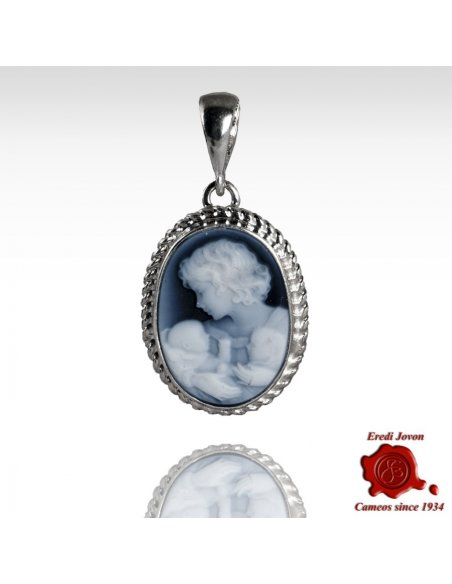 Mother with Two Children Cameo