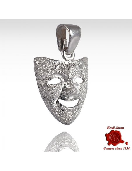 Carnival's Mask Stardust Silver Charm