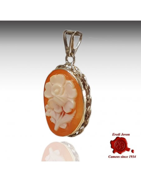 Flower Cameo Shell