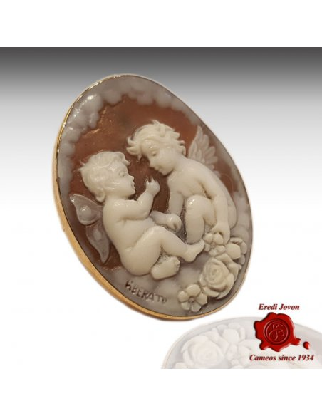 Angel Shell Cameo