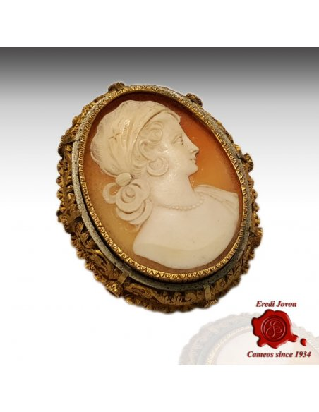 Victorian Cameo Shell