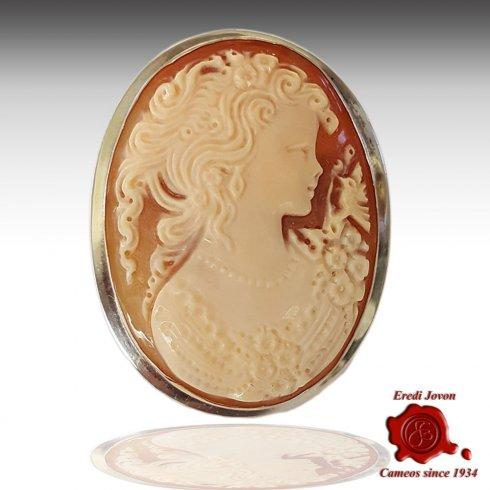 Italian Cameo Handmade Shell