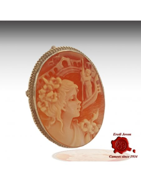 Rialto Dream Cameo Shell Silver