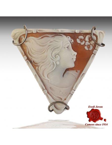 Venus shell Cameo Silver