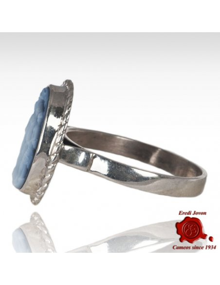 Cat Cameo Ring