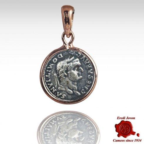 Ciondolo Moneta Gioielleria Ispirazione Romana