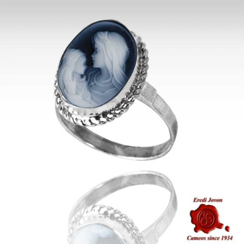 Holy Virgin Cameo Ring