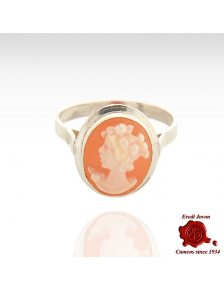 Cameo Ring Silver