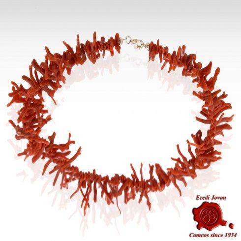 Collana Rametti Corallo Rosso