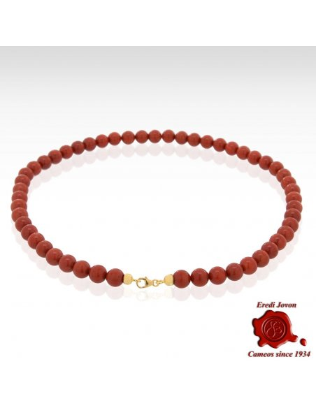 Red Coral Beads Chain