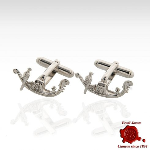 Gondola Sterling Silver Cufflinks