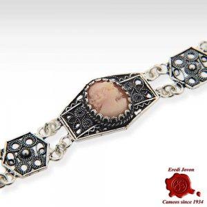 Filigree Cameo Bracelet