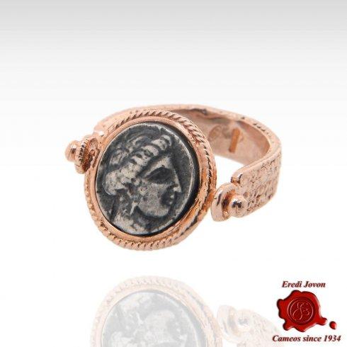 Reverse Roman Style Jewellery Ring Venus Profile