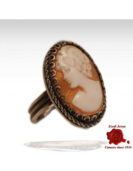 Filigree Cameo Ring