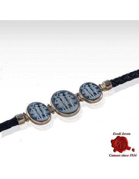 Three Graces Cameo Bracelet