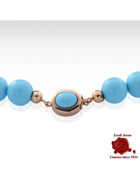 Mass Turquoise Beads Chain