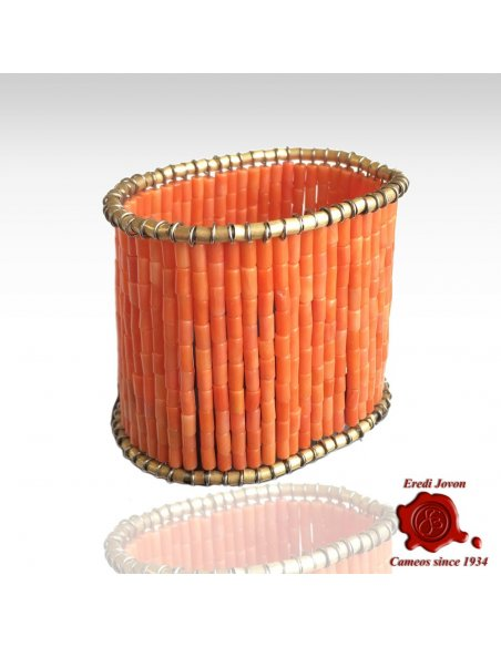 Antique Sciacca Coral Bracelet