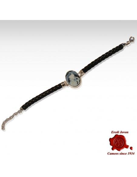 Rialto Dream Blue Cameo Silver Bracelet
