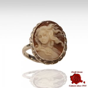 Birth of Venus cameo silver...