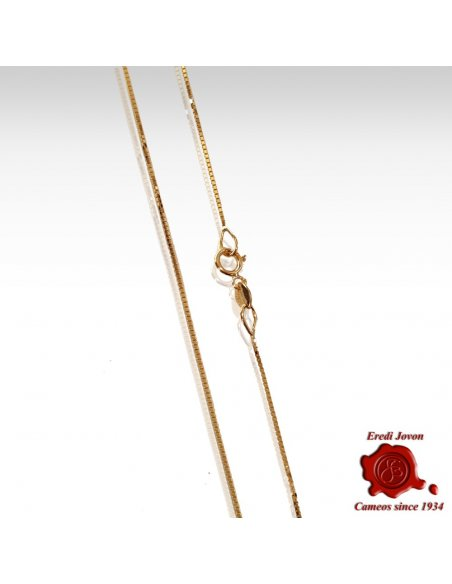 Gold Venetian Square Section Chain