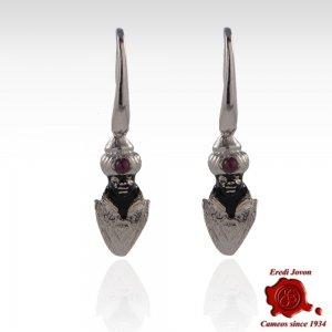 Venetian Blackamoor Jewelry Silver