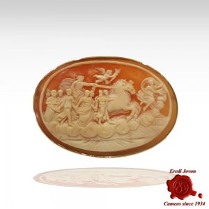 """The Aurora"" Cameo Engraved by Hand"
