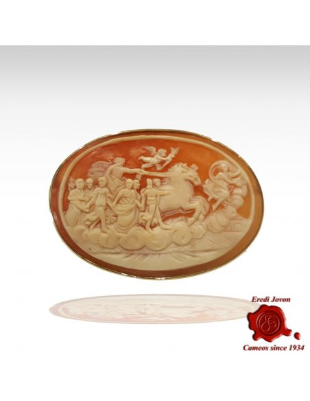 """""""The Aurora"""" Cameo Engraved by Hand"""