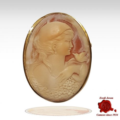 Antique Cameo Victorian Brooch